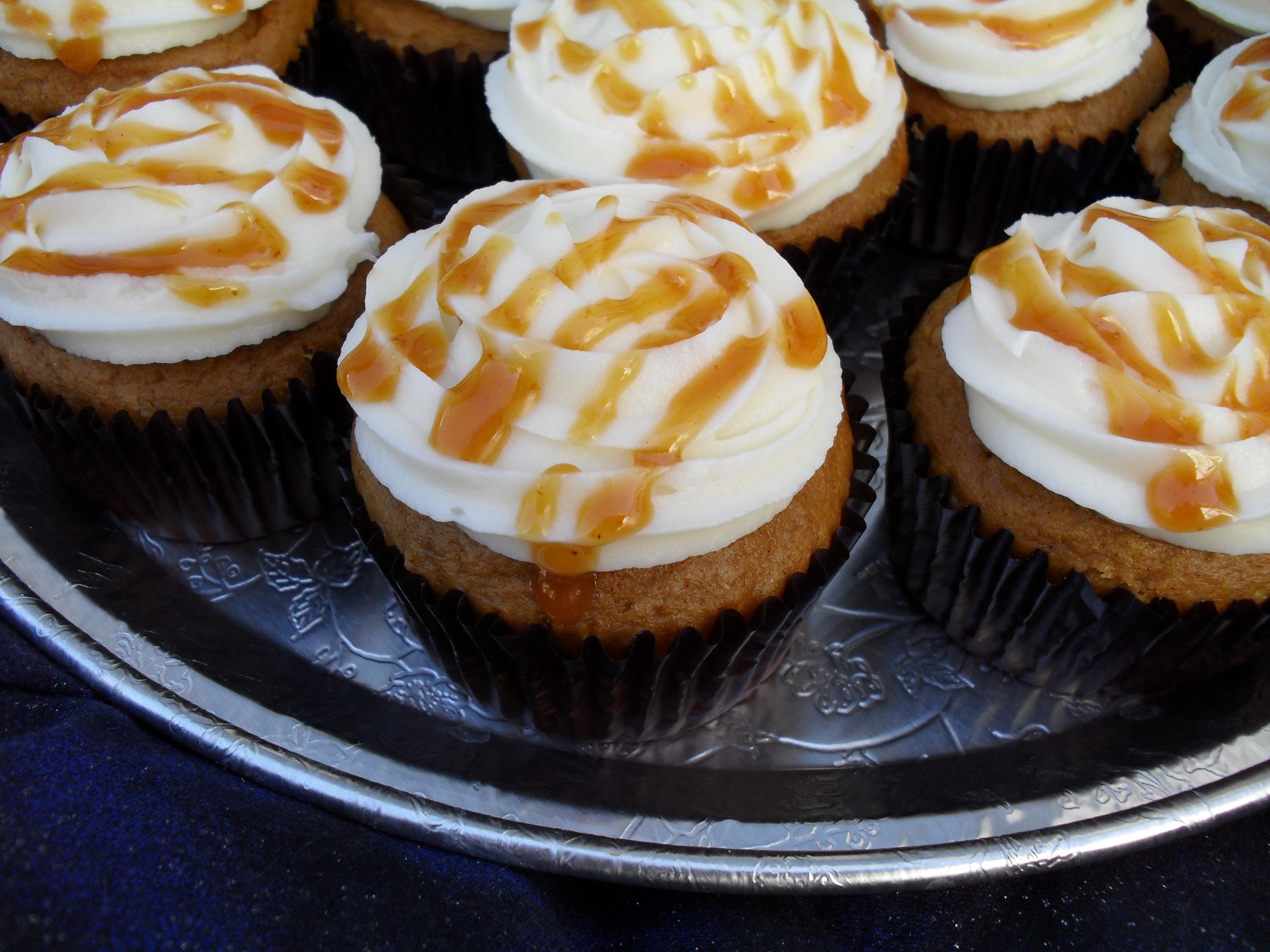 Pumpkin cupcake recipe from cake mix