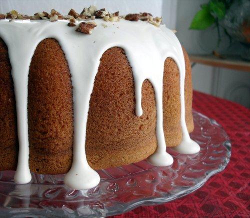 Butter Pecan-Rum Cake | Veronica's Cornucopia