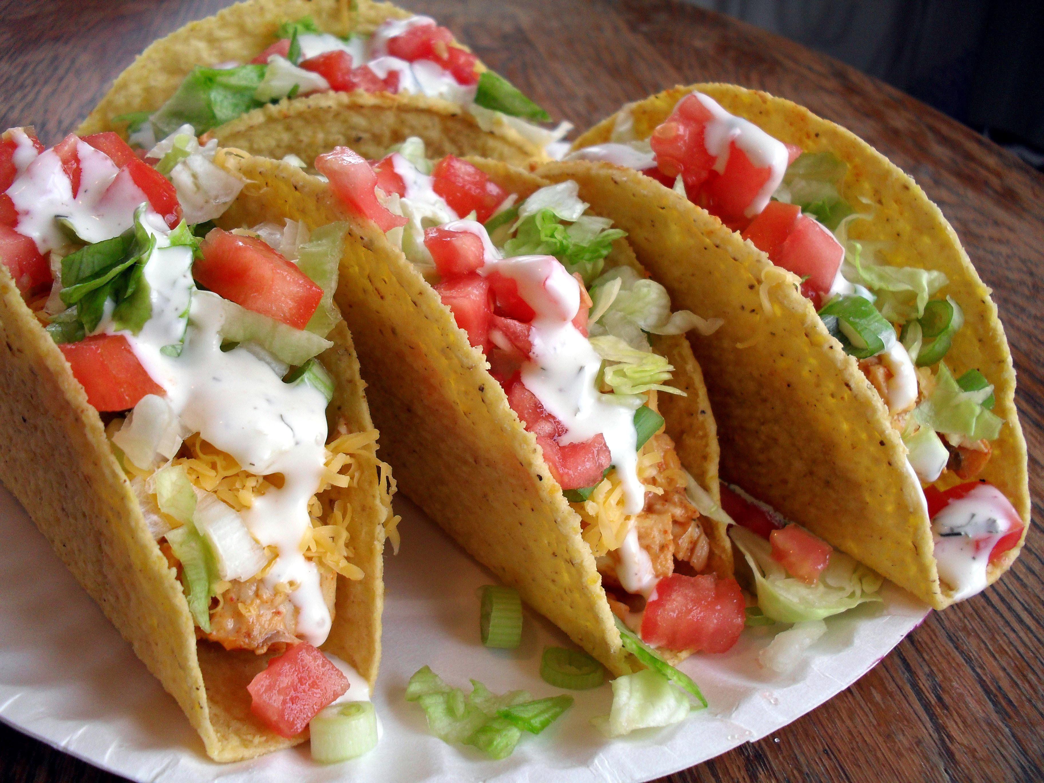 Chicken ranch tacos veronica 39 s cornucopia for Best fish taco recipe in the world