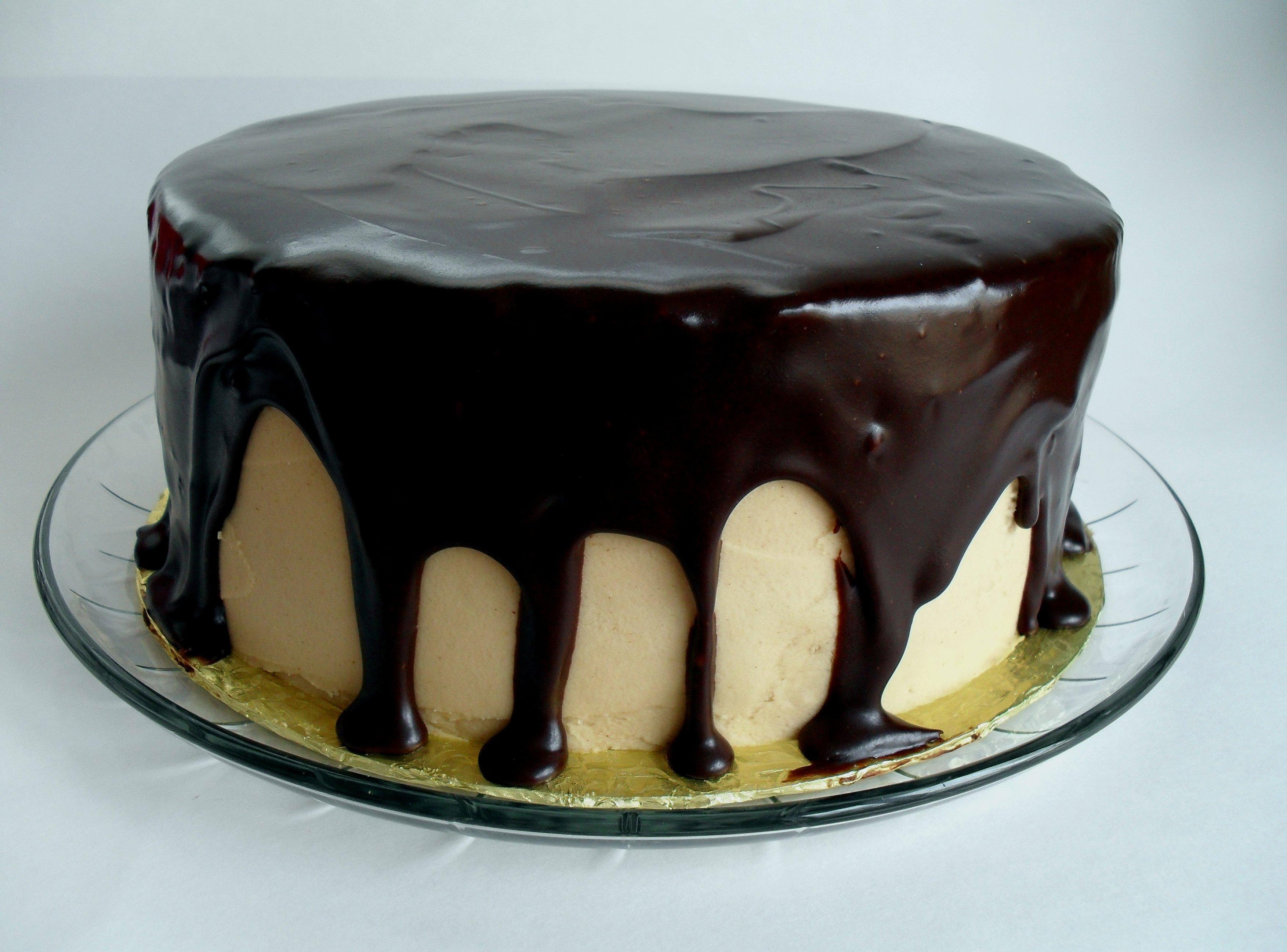 Chocolate Peanut Butter Cake | Veronica's Cornucopia