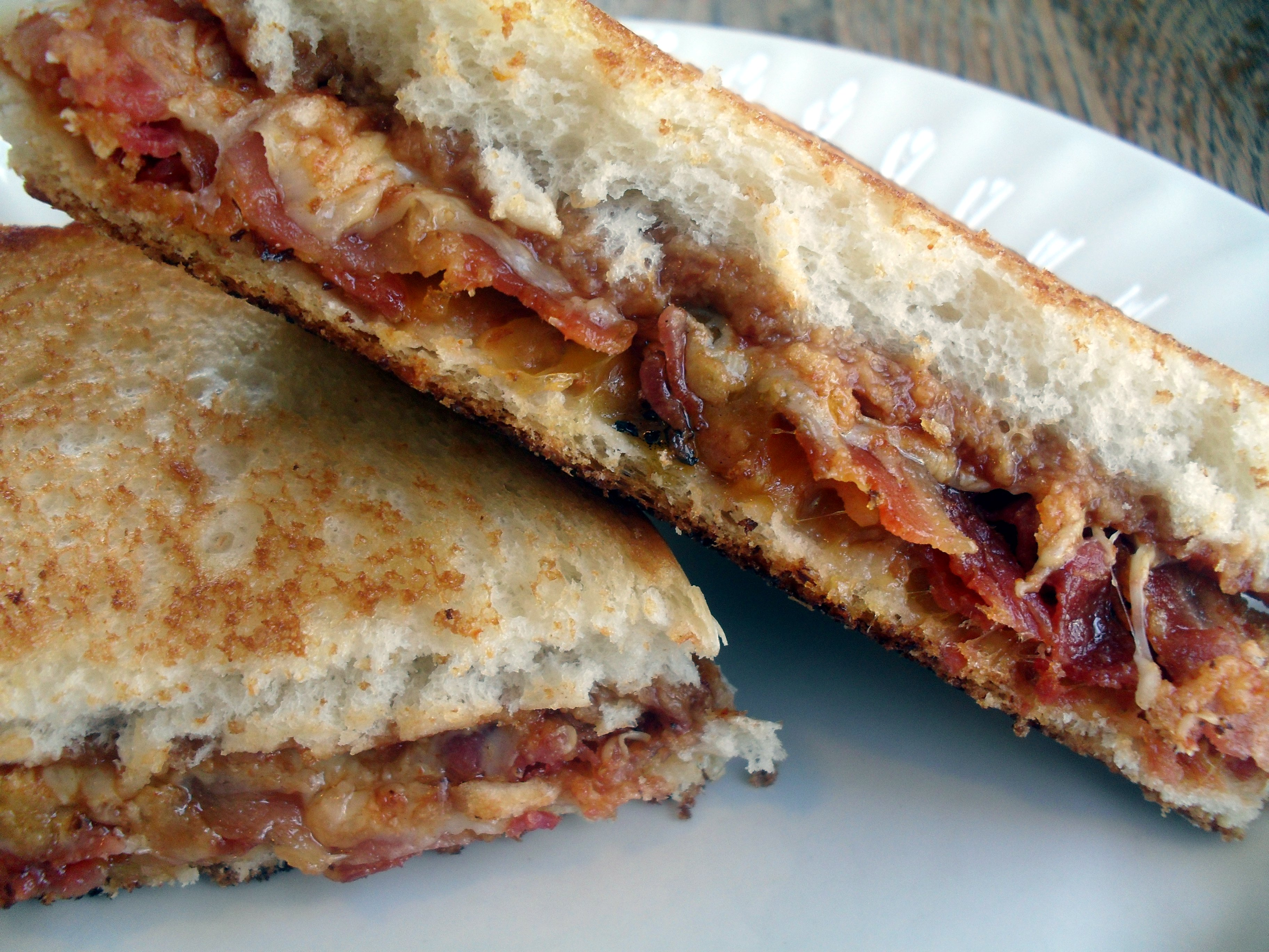 Barbecue Bacon Grilled Cheese Sandwich & Giveaway Winner ...