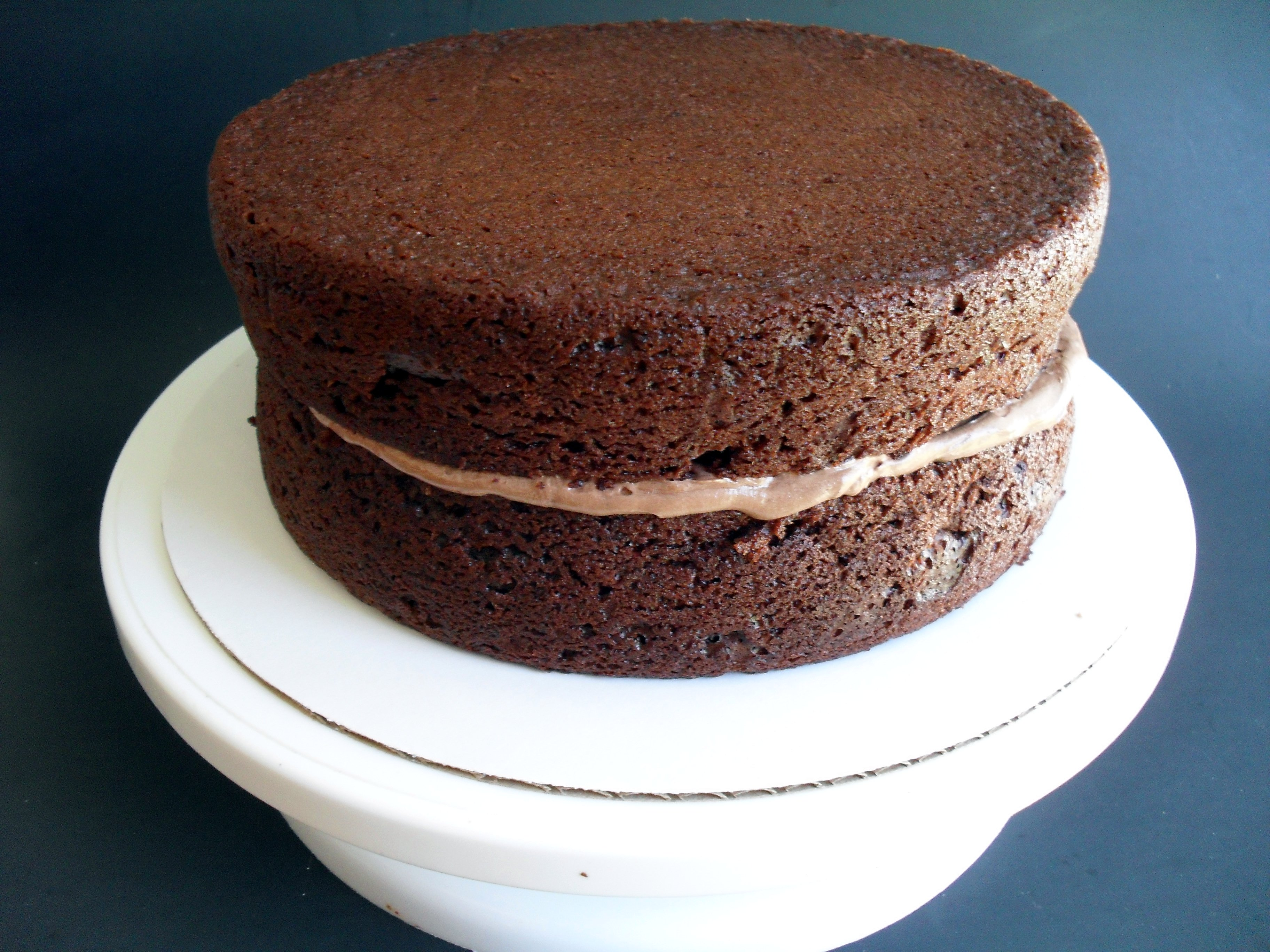 Easy Sour Cream Chocolate Layer Cake with To-Die-For Chocolate ...