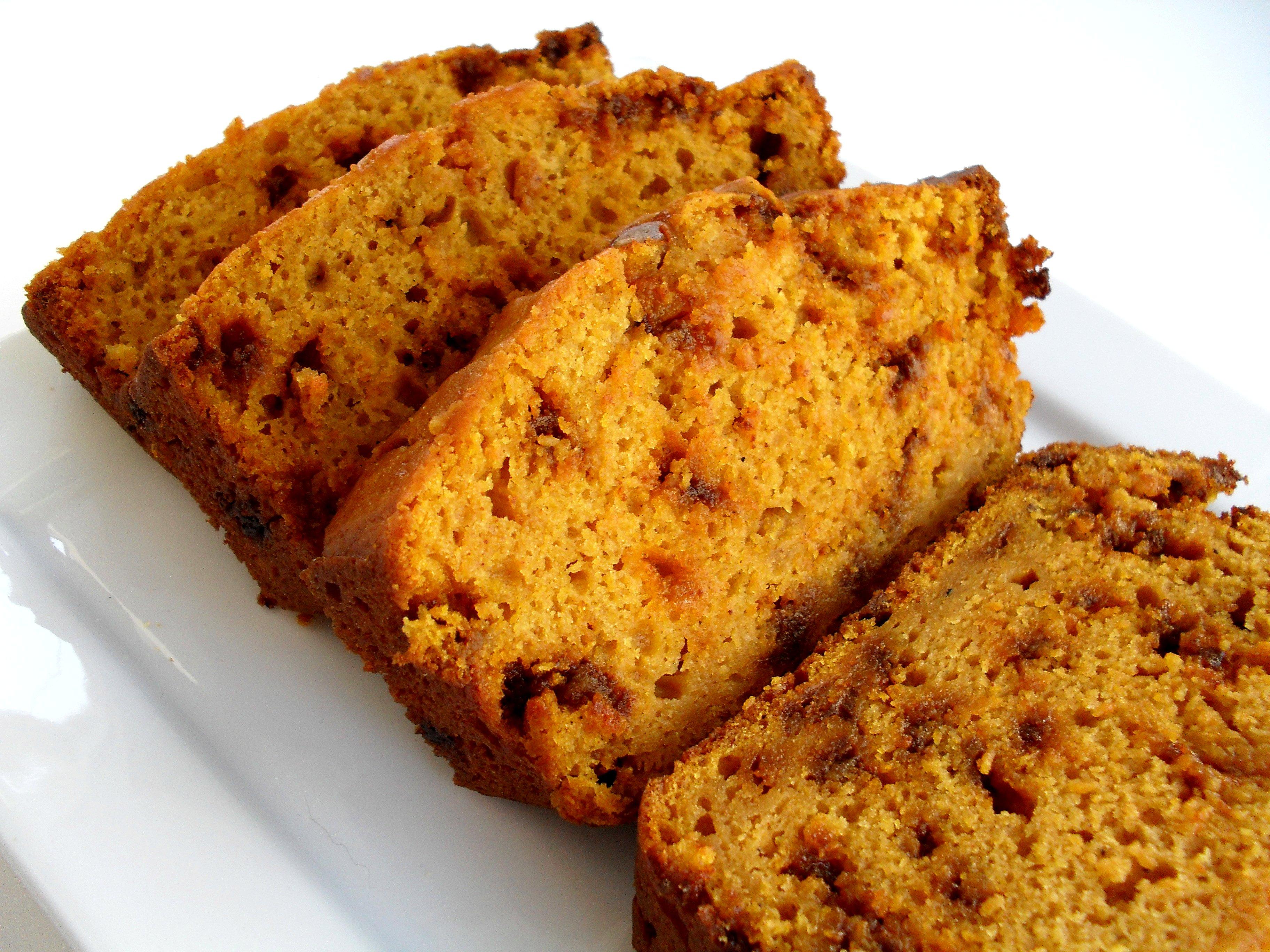 Eggnog Pumpkin Bread | Veronica's Cornucopia