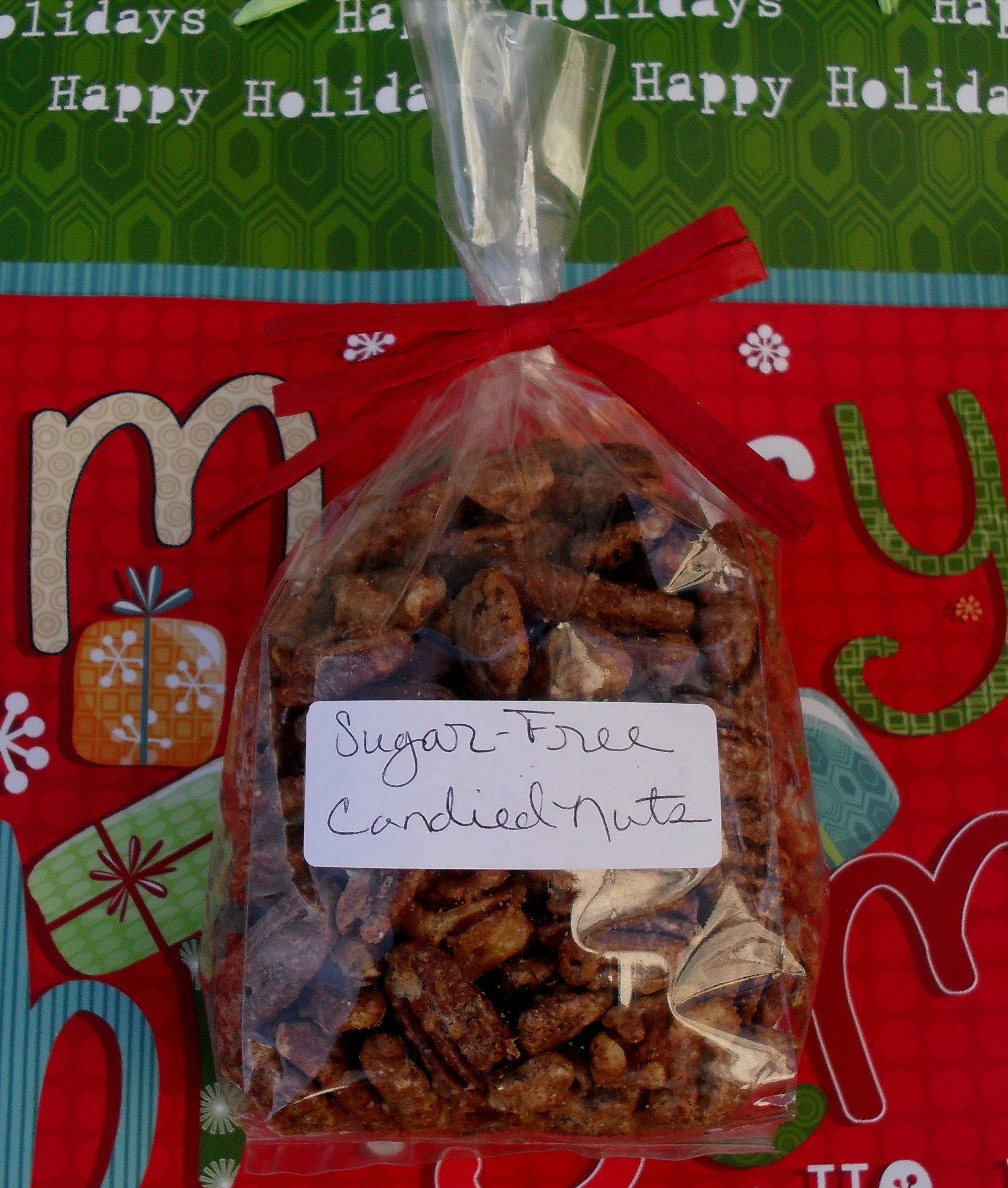 Sugar-Free Candied Nuts (low carb) | Veronica's Cornucopia