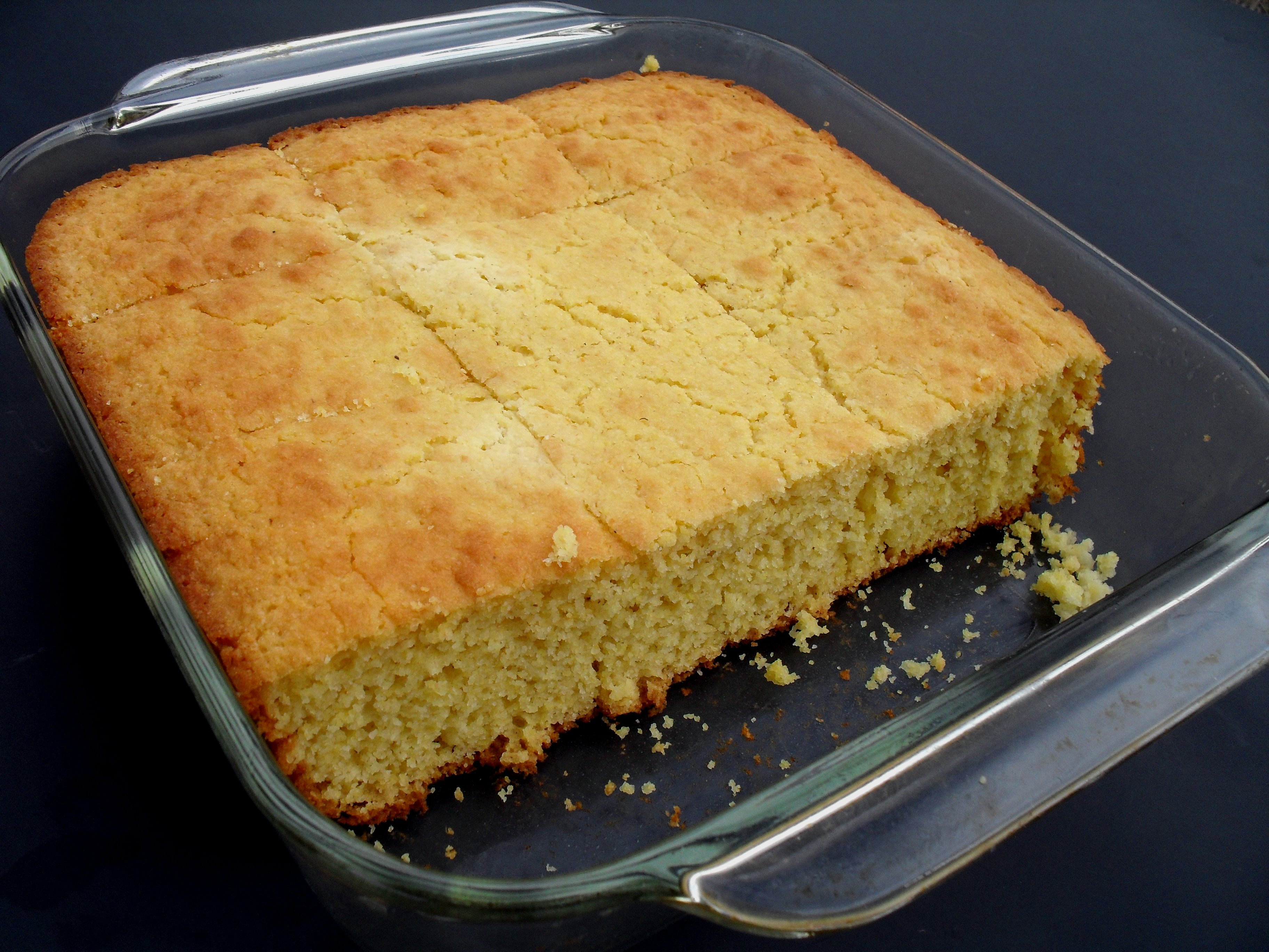 Cake Made With Corn Muffin Mix