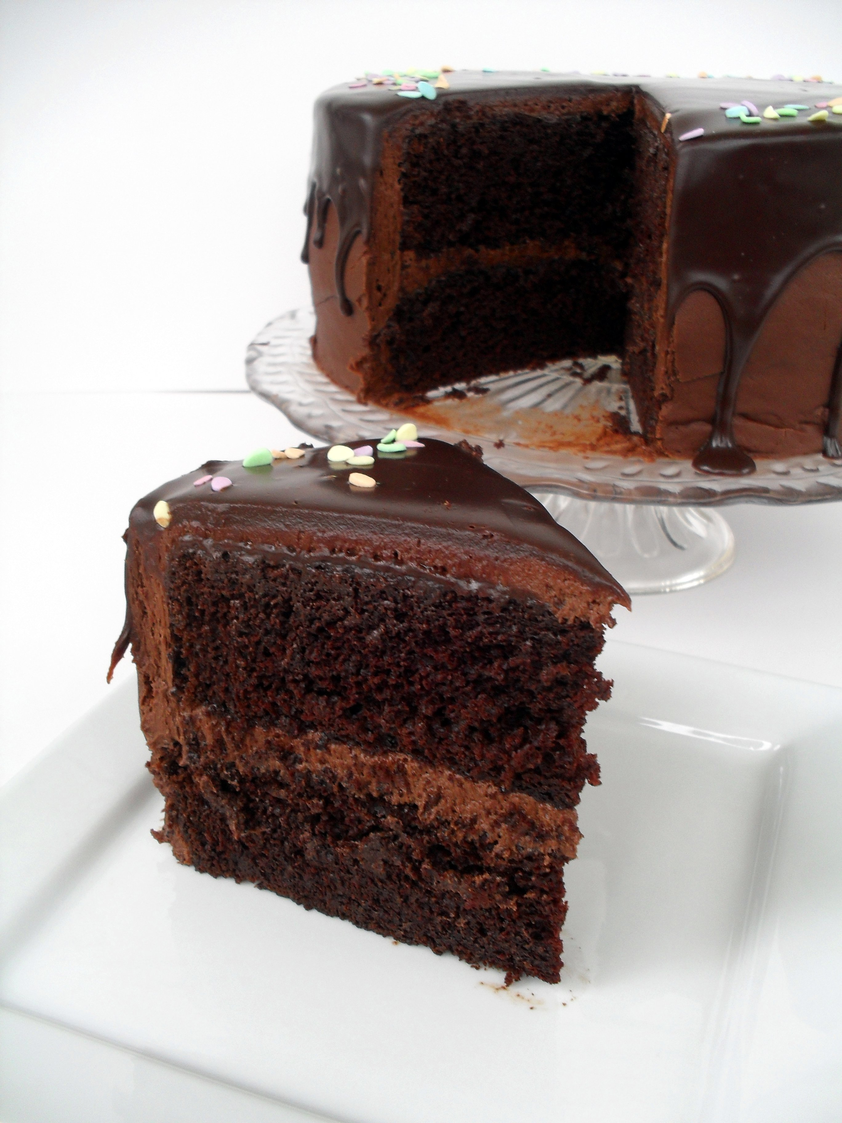 Chocolate Frosting For Two Layer Cake
