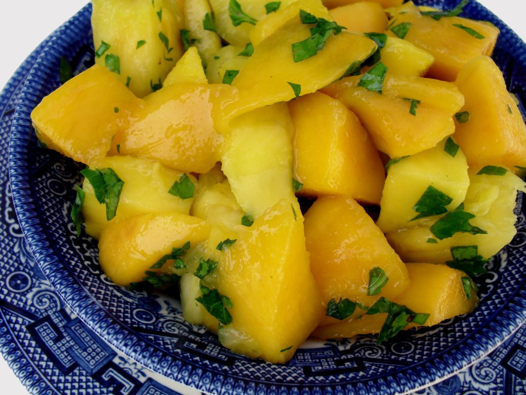 Pineapple & Mango Salad | Veronica's Cornucopia