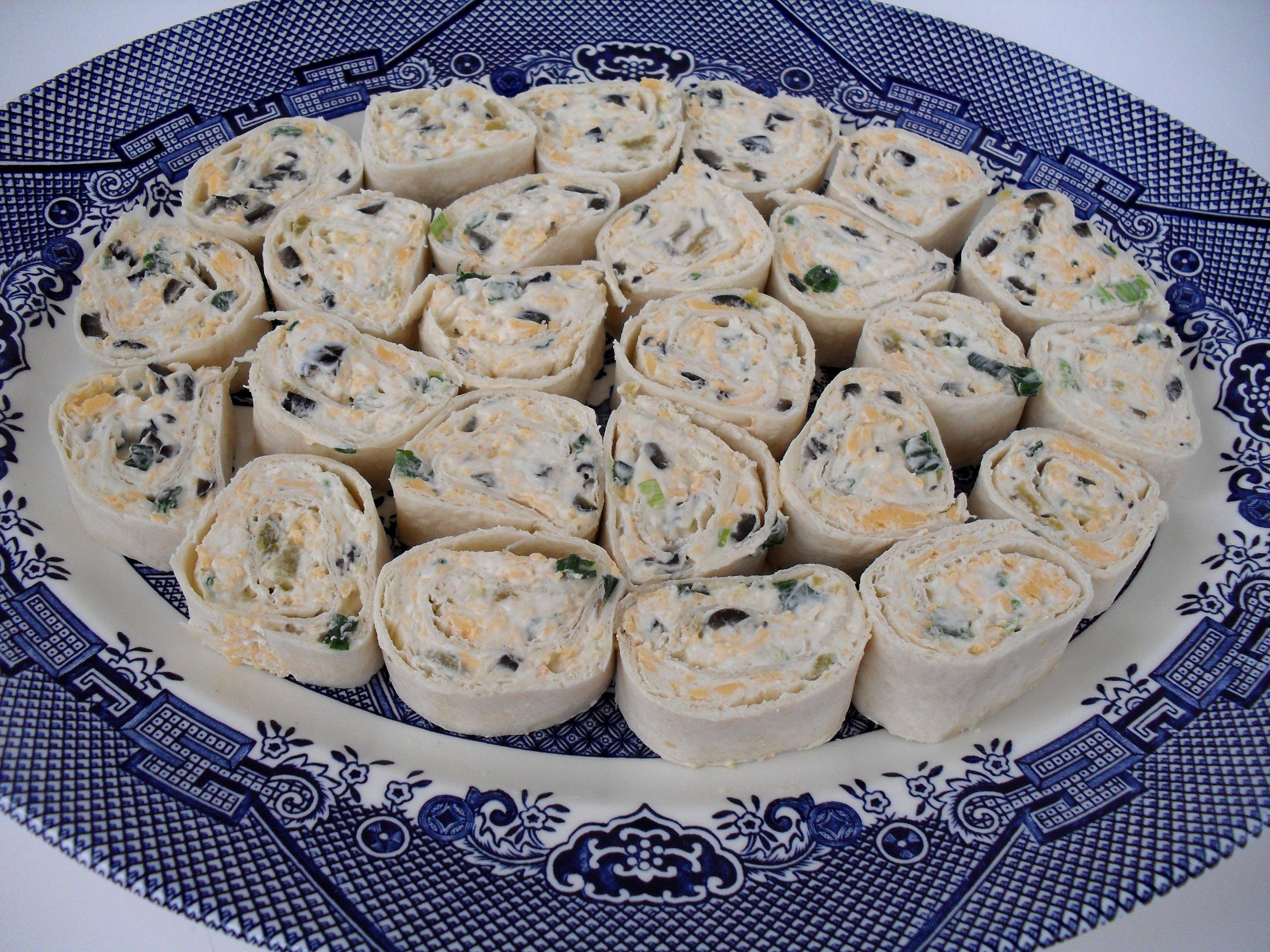 Tortilla Pinwheels | Veronica's Cornucopia