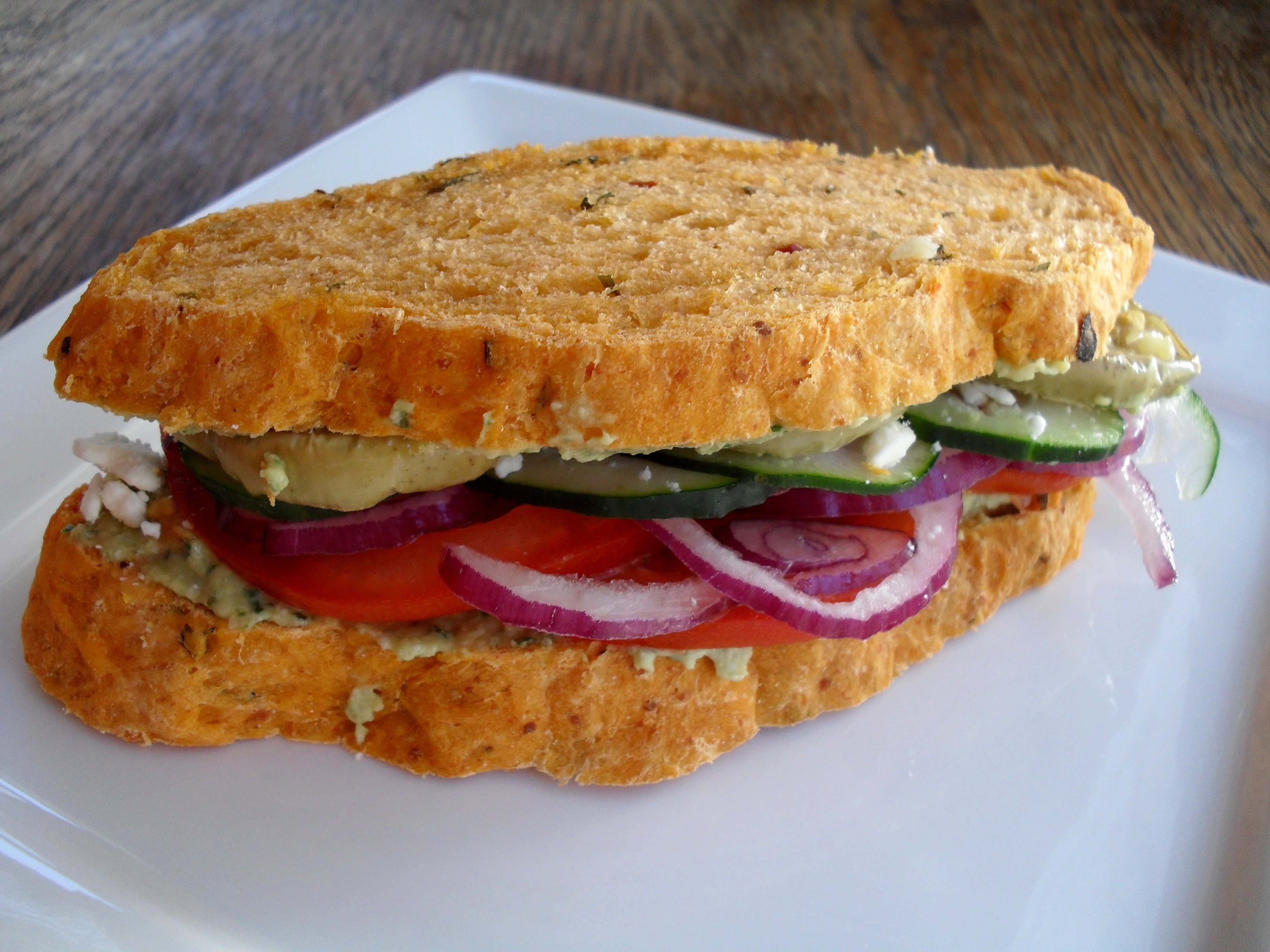 Grilled Mediterranean Vegetable Sandwich Recipes — Dishmaps