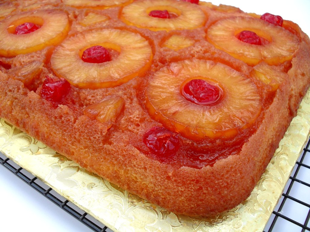 Easy Low Carb Pineapple Upside Down Cake
