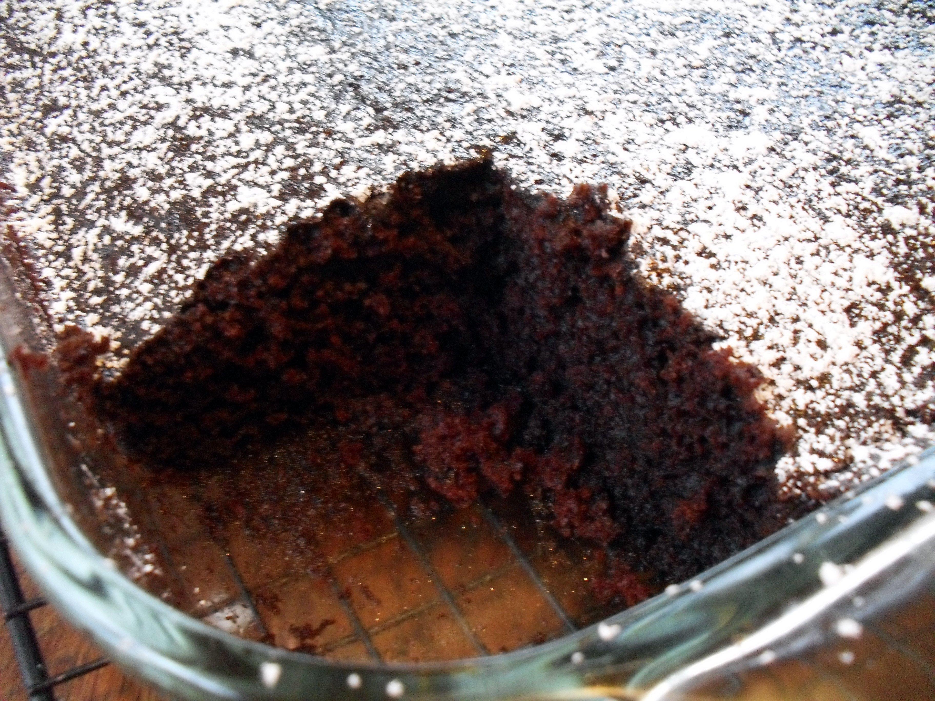 Mocha Wacky Cake Recipe — Dishmaps