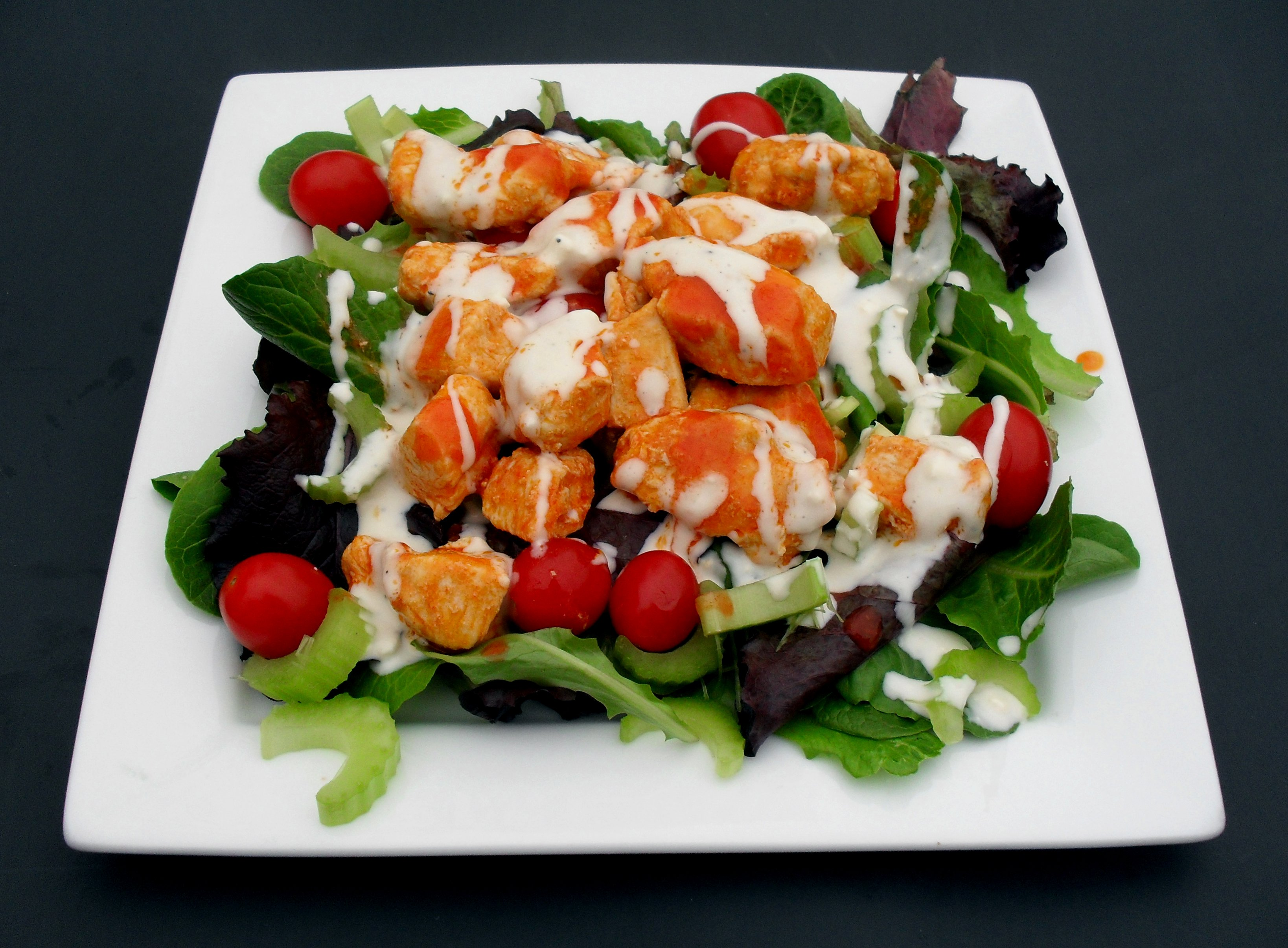 ... × 2412 in Buffalo Chicken Salad with Homemade Blue Cheese Dressing