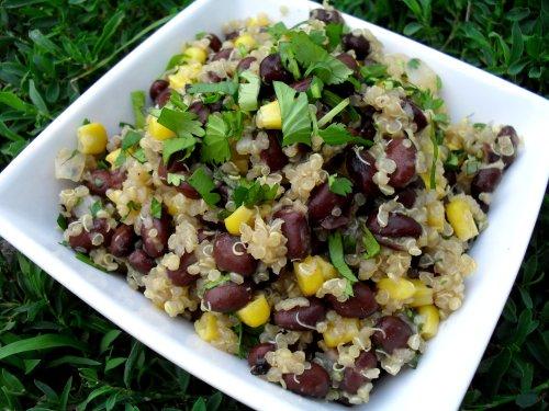 quinoa salad 6-21-11