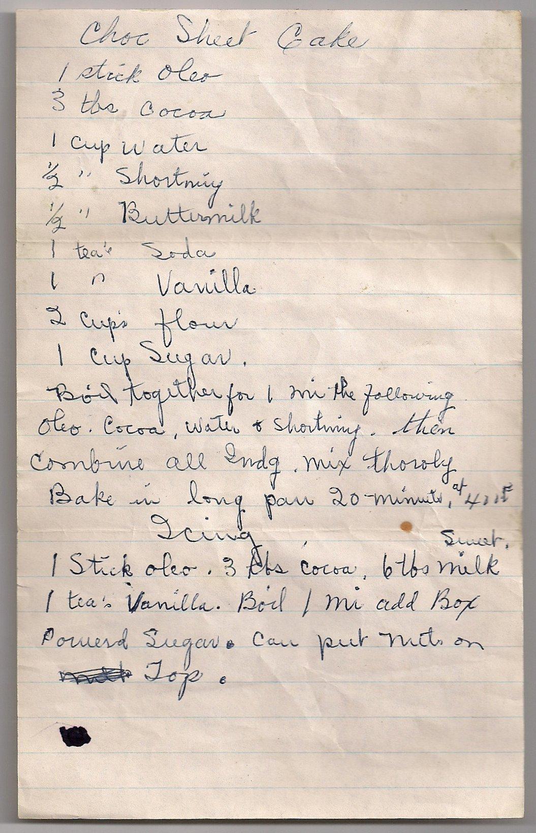 Quick Amish Cake Recipes