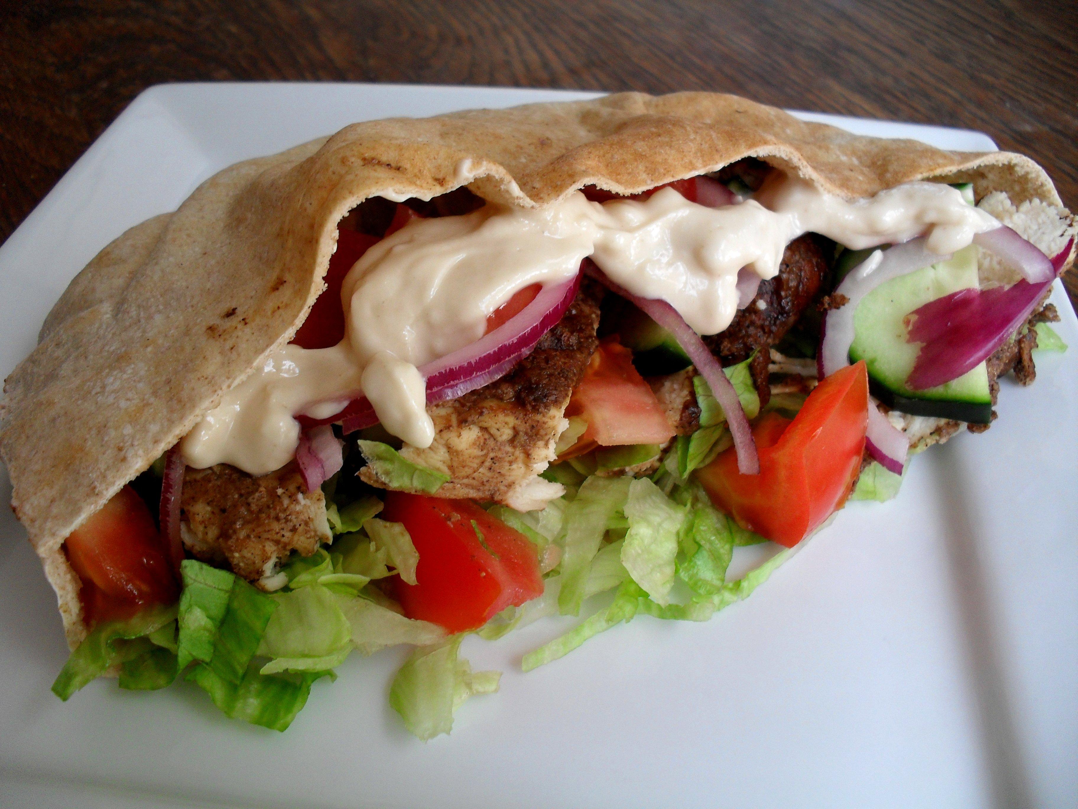 Chicken Shawarma Recipe — Dishmaps