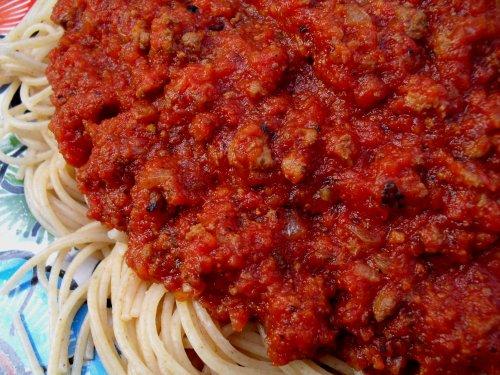 meat sauce   Veronica's Cornucopia