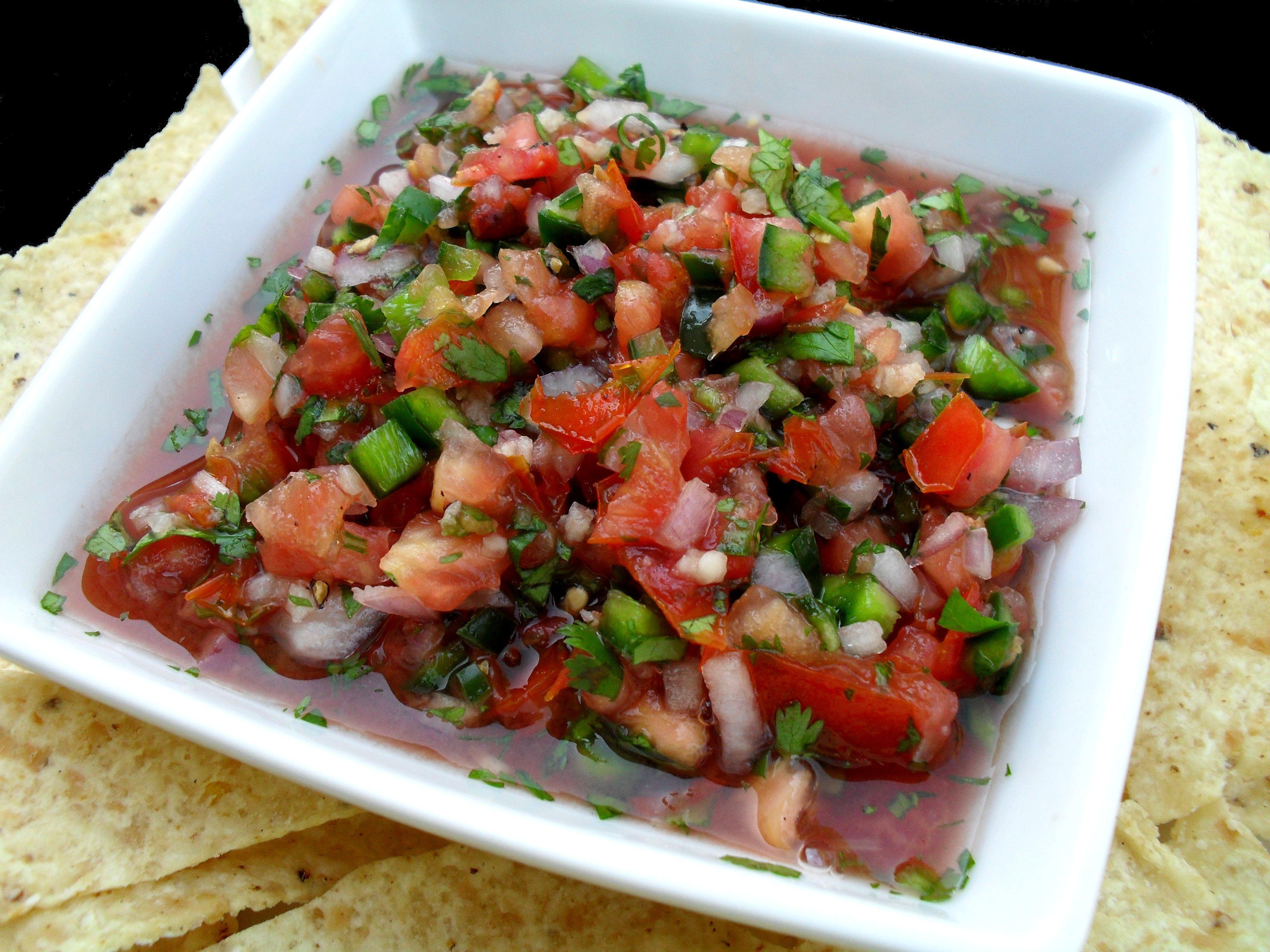salsa recept