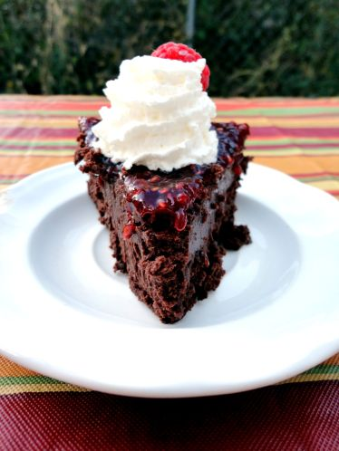 Chocolate Oblivion Truffle Torte Recipe