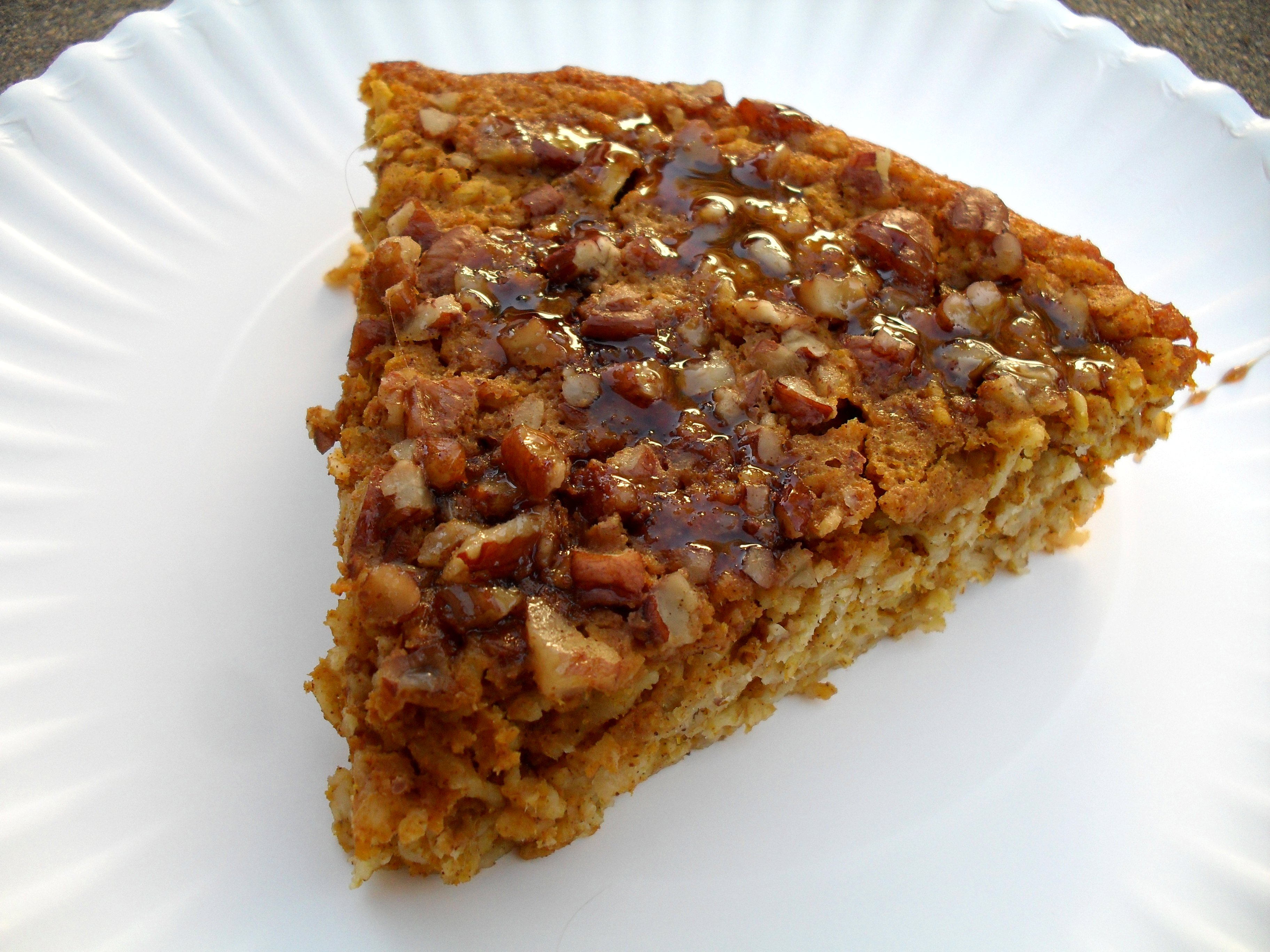 Published October 2, 2011 at 3648 × 2736 in Pumpkin Pie Baked Oatmeal