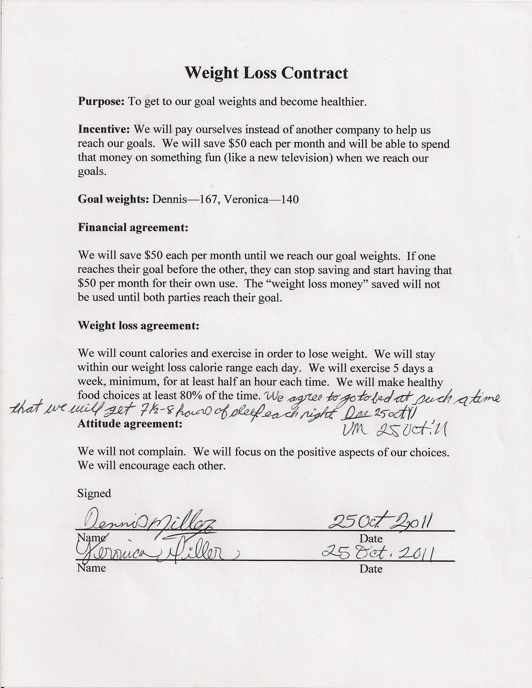 Contract Veronicas Cornucopia