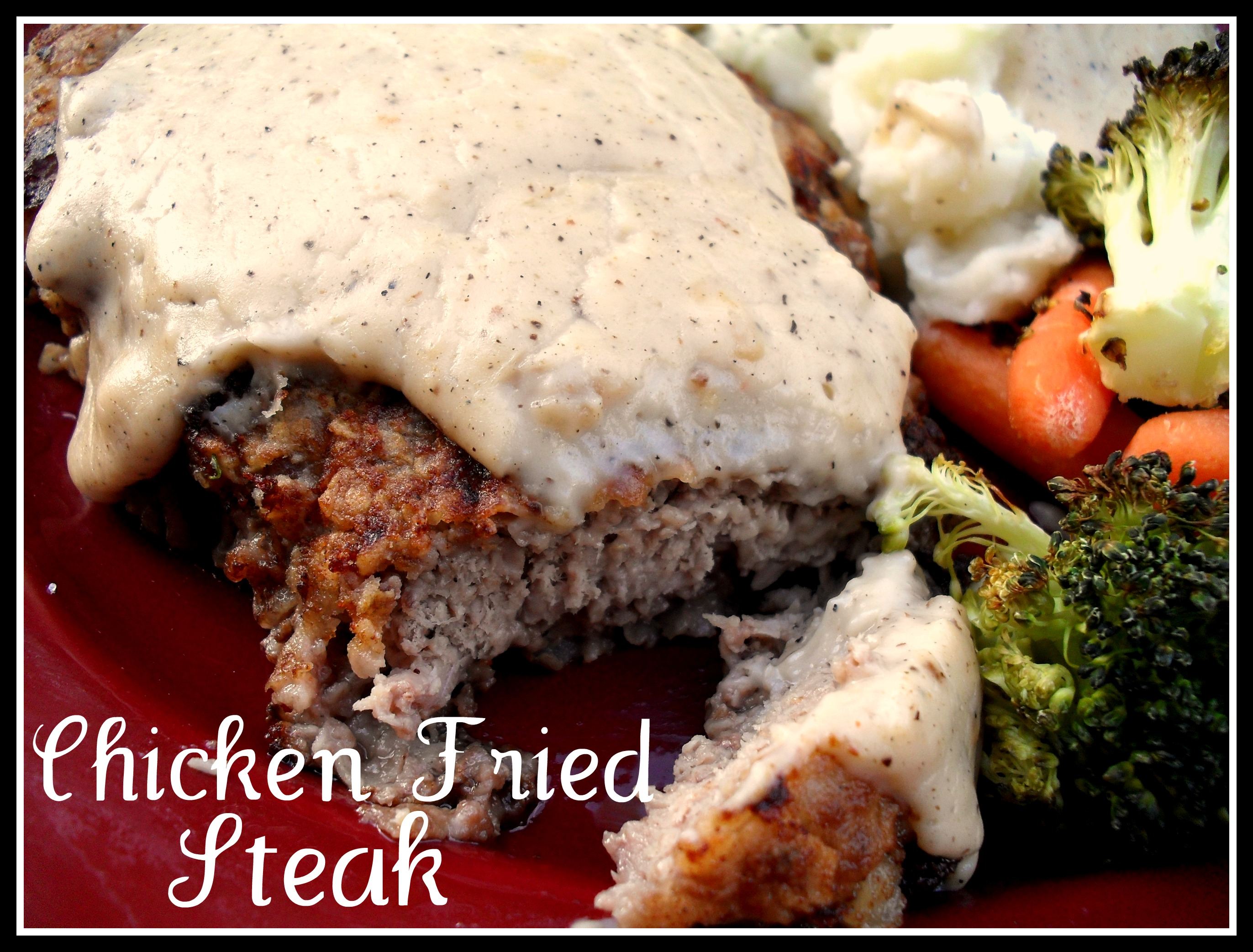 Chicken-Fried Steak with Country Gravy | Veronica's Cornucopia