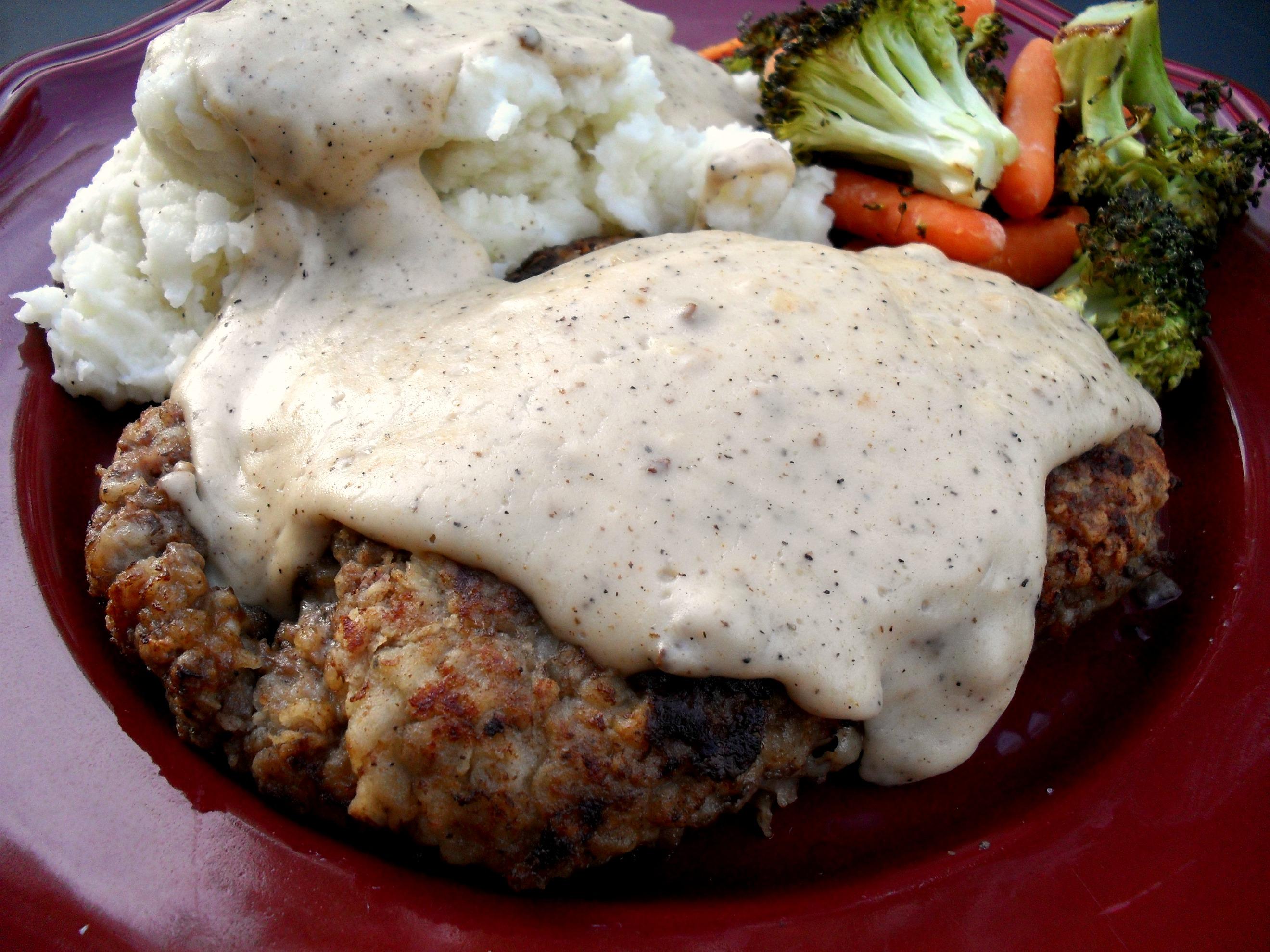 Chicken-Fried Steak with Country Gravy | Veronica's Cornucopia